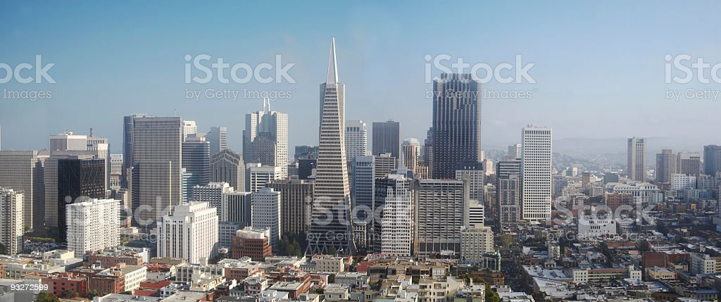 San Francisco Panorama royalty-free stock photo