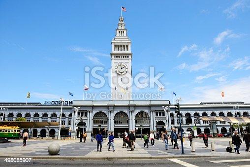 Embarcadero Center in San Francisco,USA