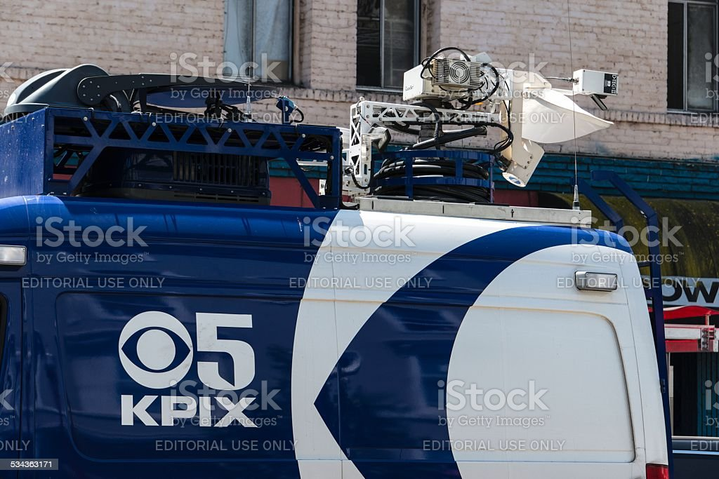 KPIX CBS San Francisco stock photo