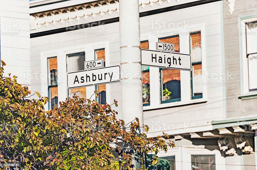 San Francisco Popular Intersection stock photo