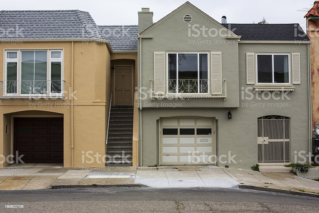 San Francisco Real Estate royalty-free stock photo