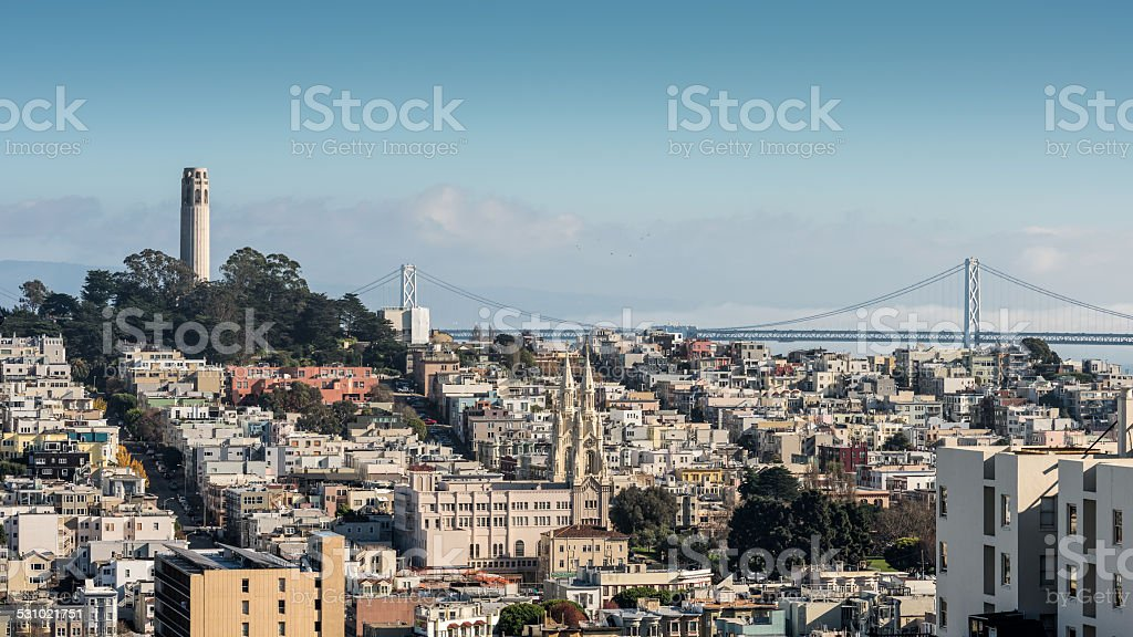 San Francisco Skyline Daytime stock photo