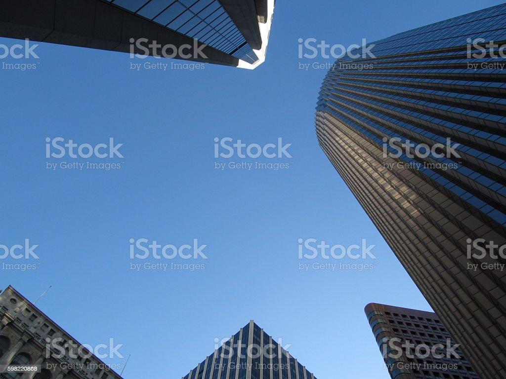 San Francisco Skyline Downtown foto royalty-free