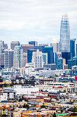 City skyline.\nSan Francisco, California, USA.