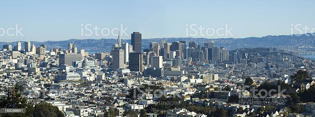 Skyline di San Francisco foto stock royalty-free