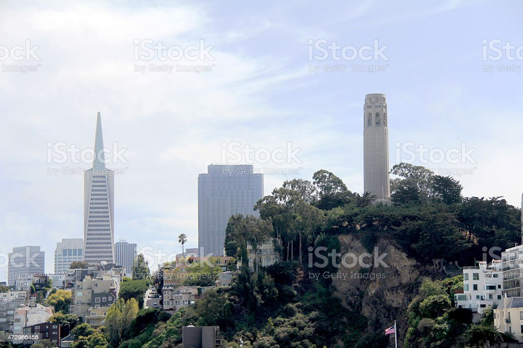 San Francisco Skyline stock photo