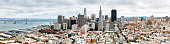 Panoramic view of San Francisco Skyline