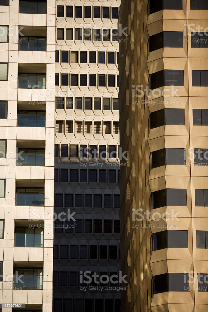 San Francisco Skyscrapers royalty-free stock photo