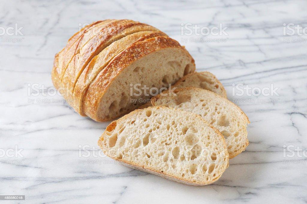San Francisco Sourdough Bread stock photo