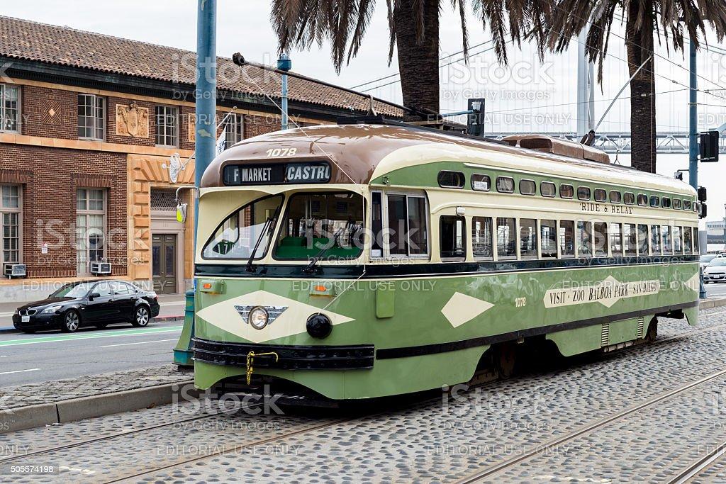 San Francisco Street Car stock photo