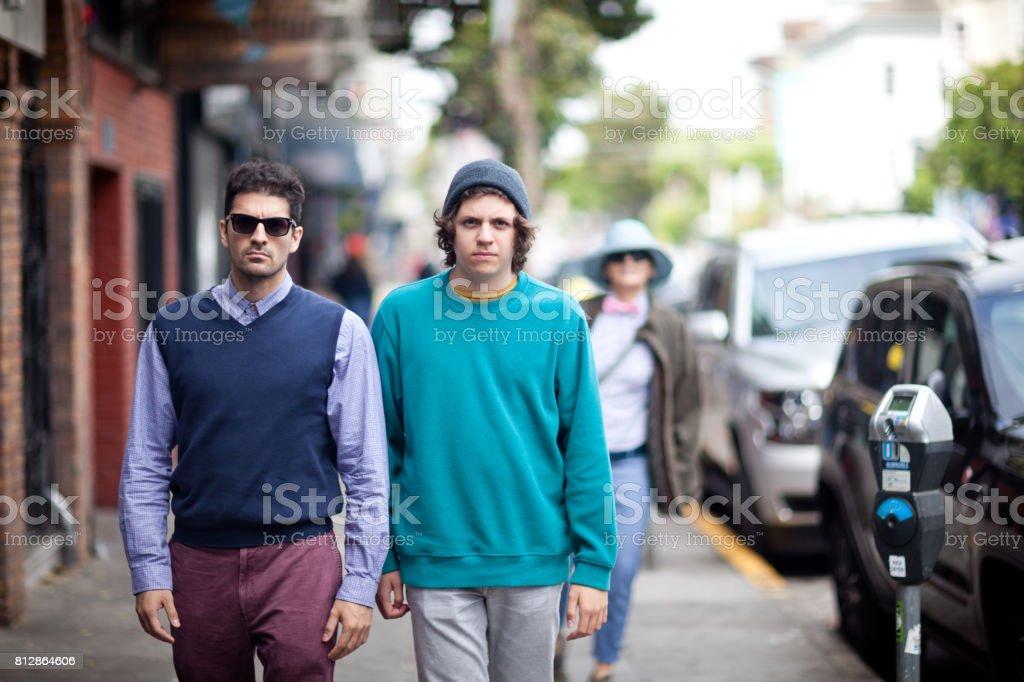 San Francisco Street Life 2 stock photo
