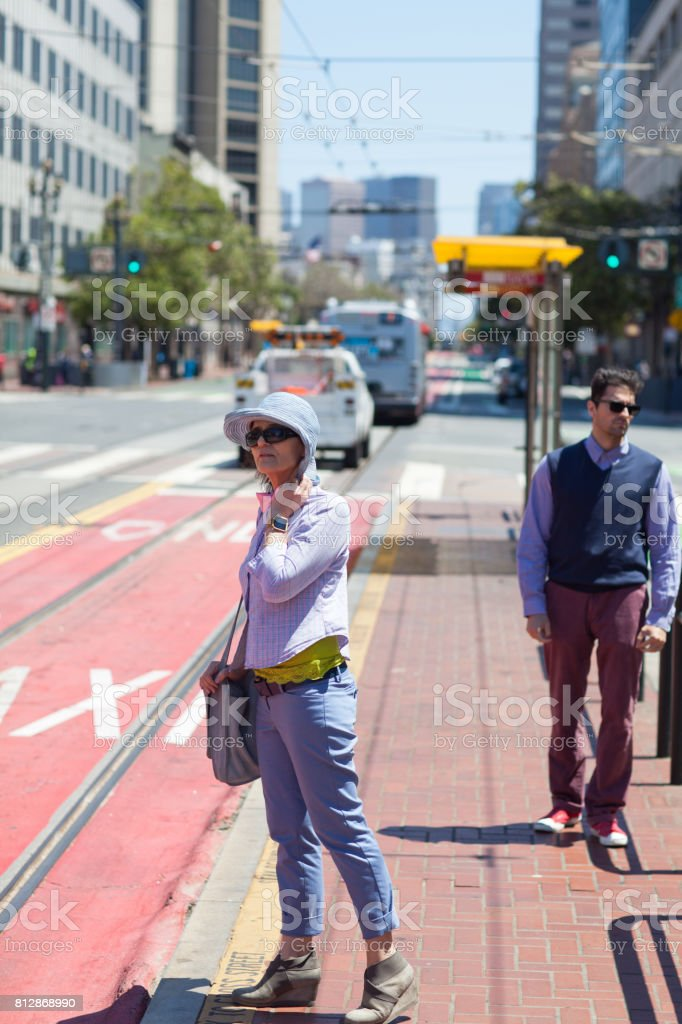 San Francisco Street Life transportation stock photo