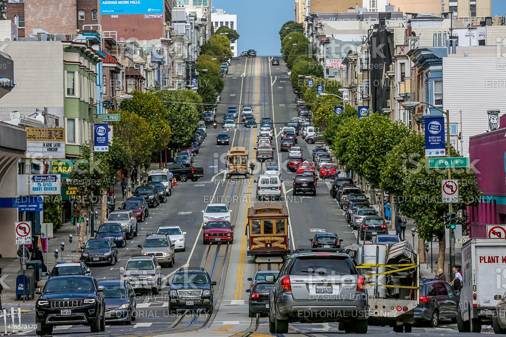 San Francisco street stock photo