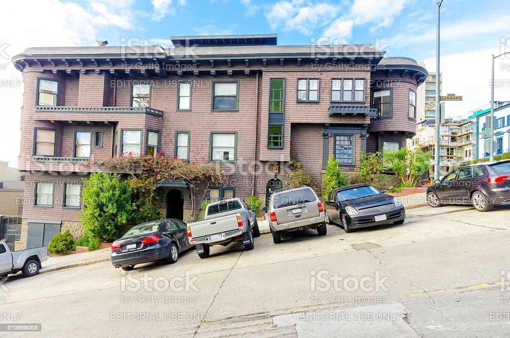 San Francisco street stock photo