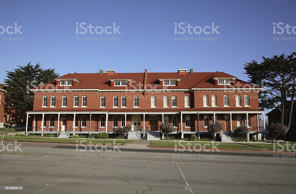 San Francisco: The Presidio stock photo