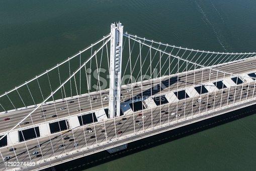 istock San Francisco to Oakland Bay Bridge Aerial View 1292274459