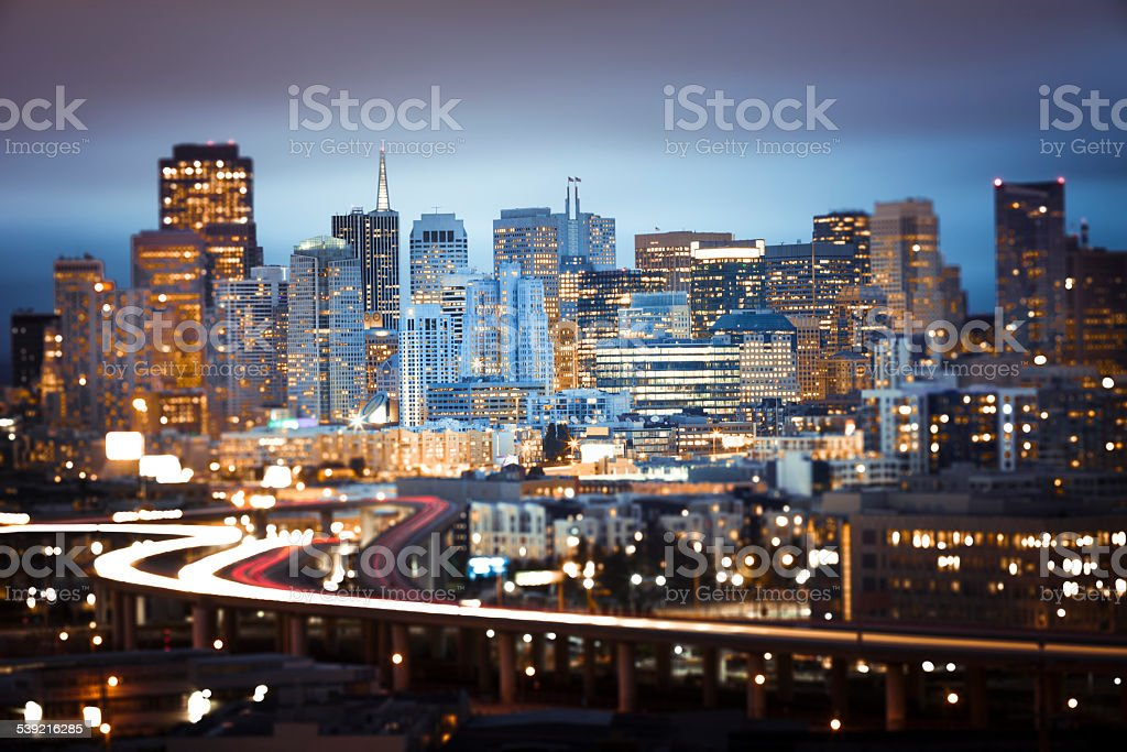 San Francisco Traffic stock photo