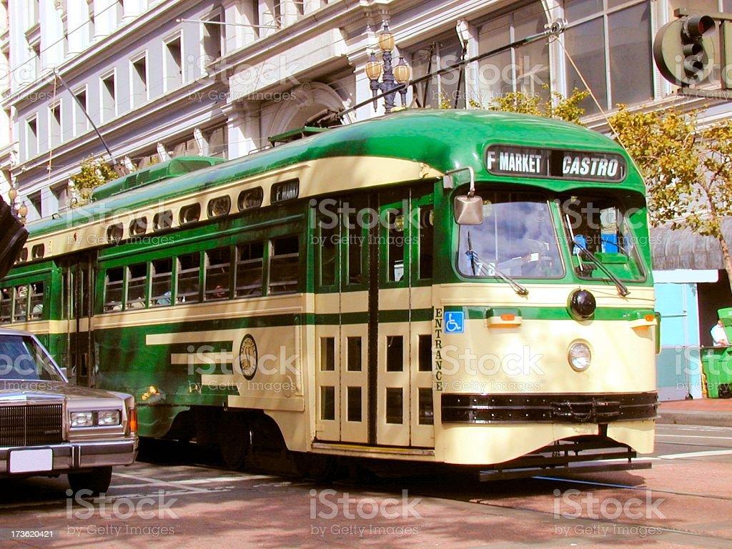 San Francisco Tram royalty-free stock photo