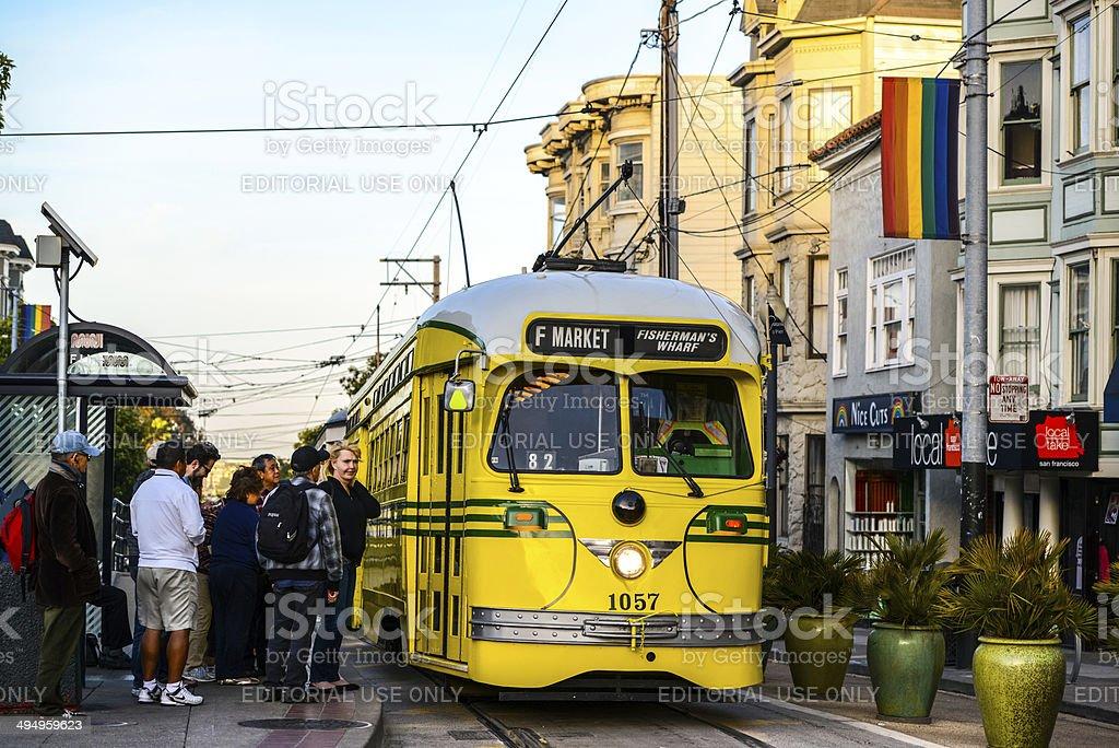 San Francisco Tramway stock photo
