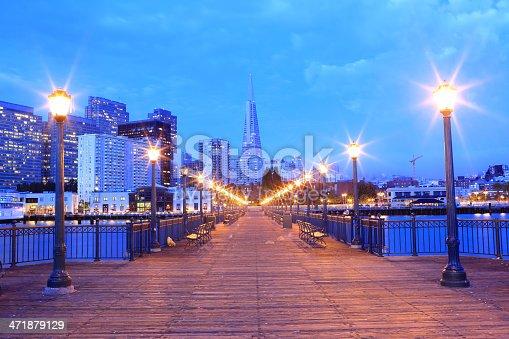 Transamerica  Pyramid and Downtown of San Francisco