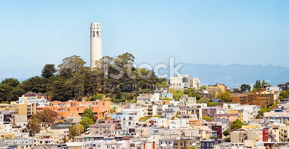 istock San Francisco USA Telegaph hill and Coit Tower panorama 625781234