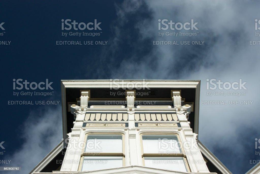 San Francisco Victorian Architecture stock photo