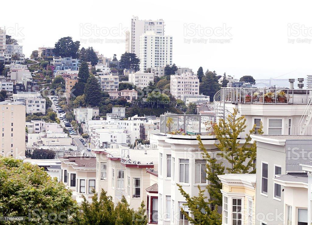 San Francisco View royalty-free stock photo