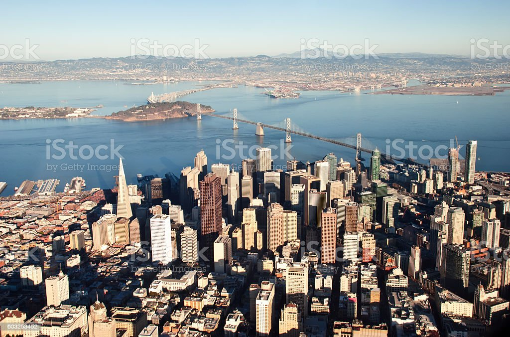 San Francisco View stock photo
