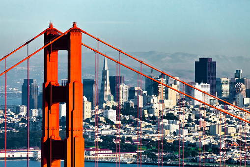 San Francisco from San Francisco Headlands