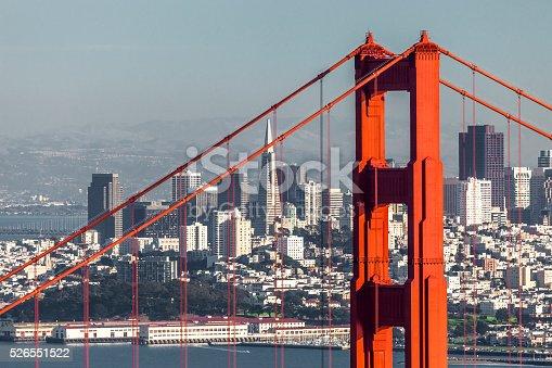 istock San Francisco with the Golden Gate bridge 526551522