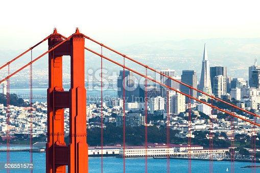 istock San Francisco with the Golden Gate bridge 526551572