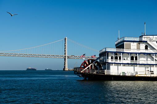 View of the San Francisco–Oakland Bay Bridge from San Francisco