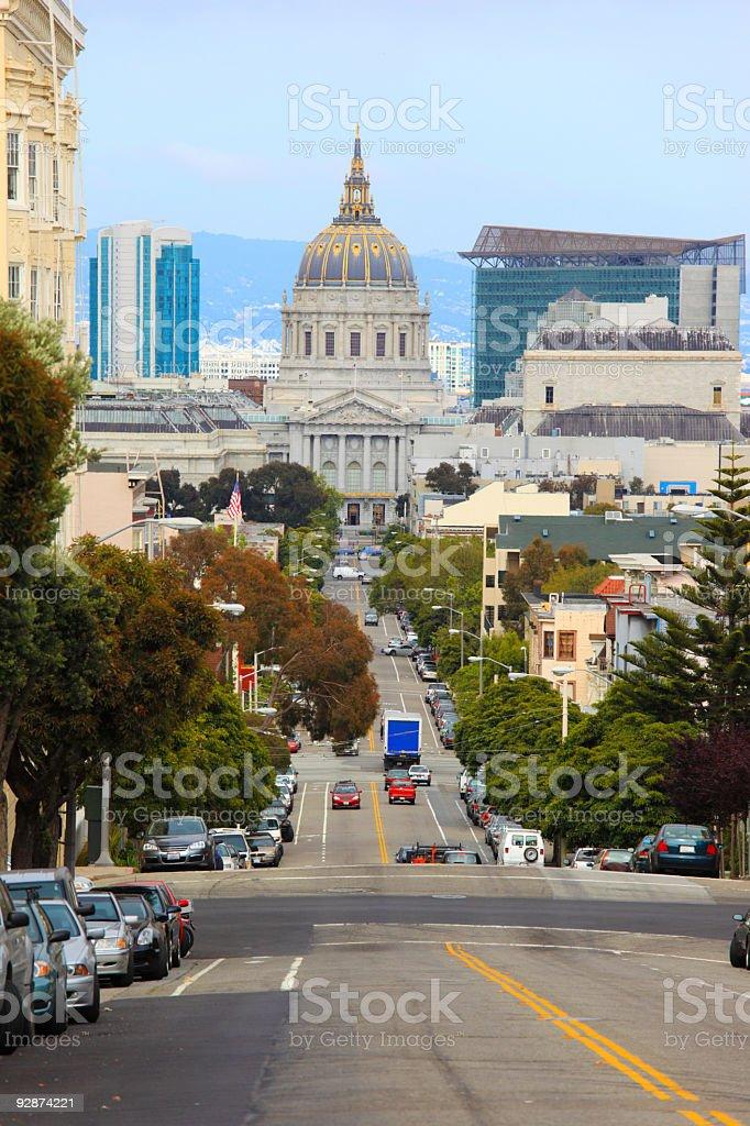 San Franciso City Hall royalty-free stock photo