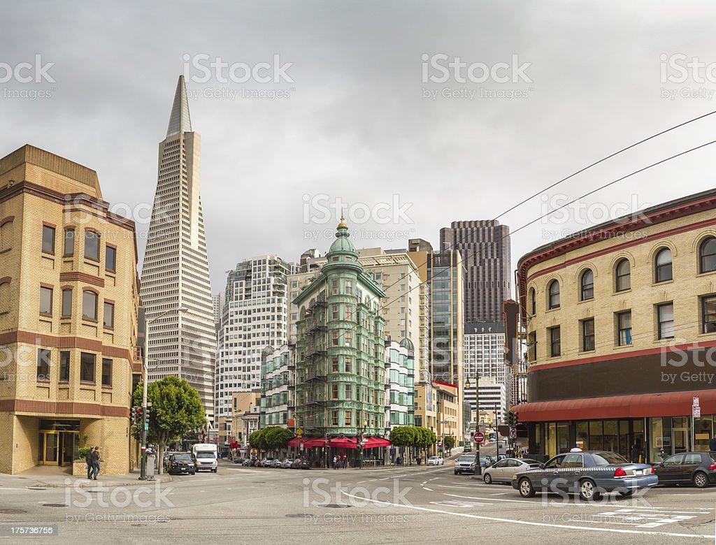 San Fransisco City stock photo
