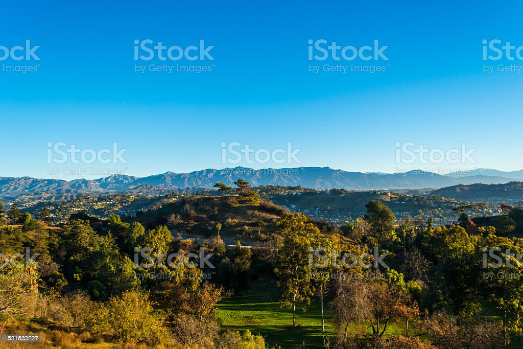 San Gabriel Mountains 1 stock photo