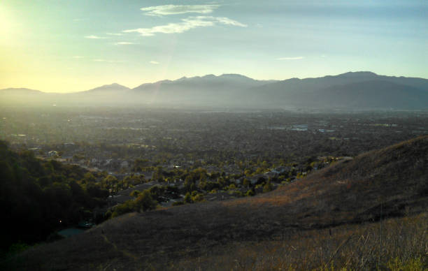 A San Gabriel Valley Vista stock photo