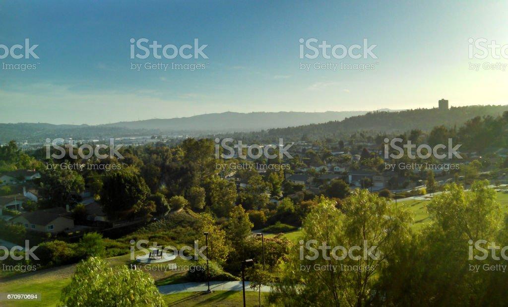 A San Gabriel Valley Vista stock photo