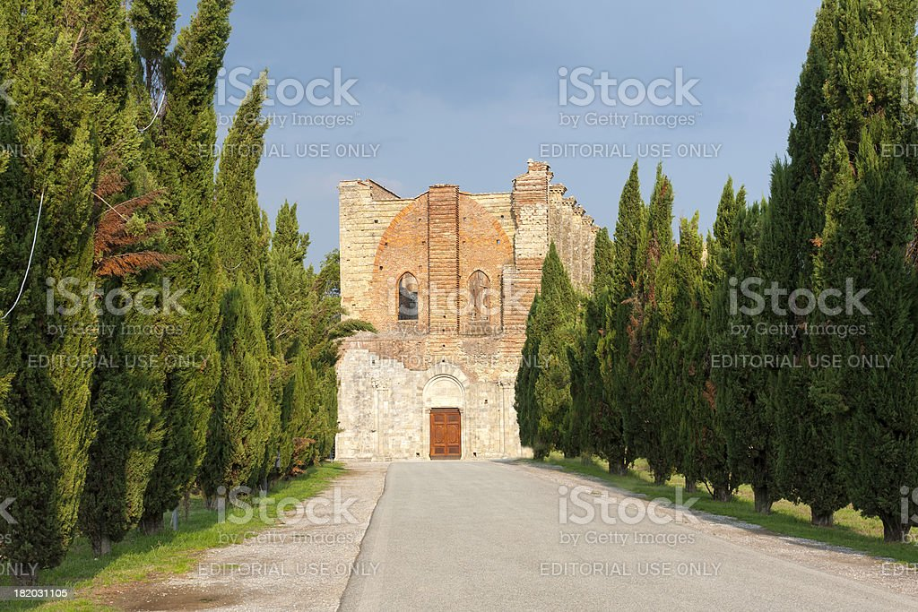 San Galgano royalty-free stock photo