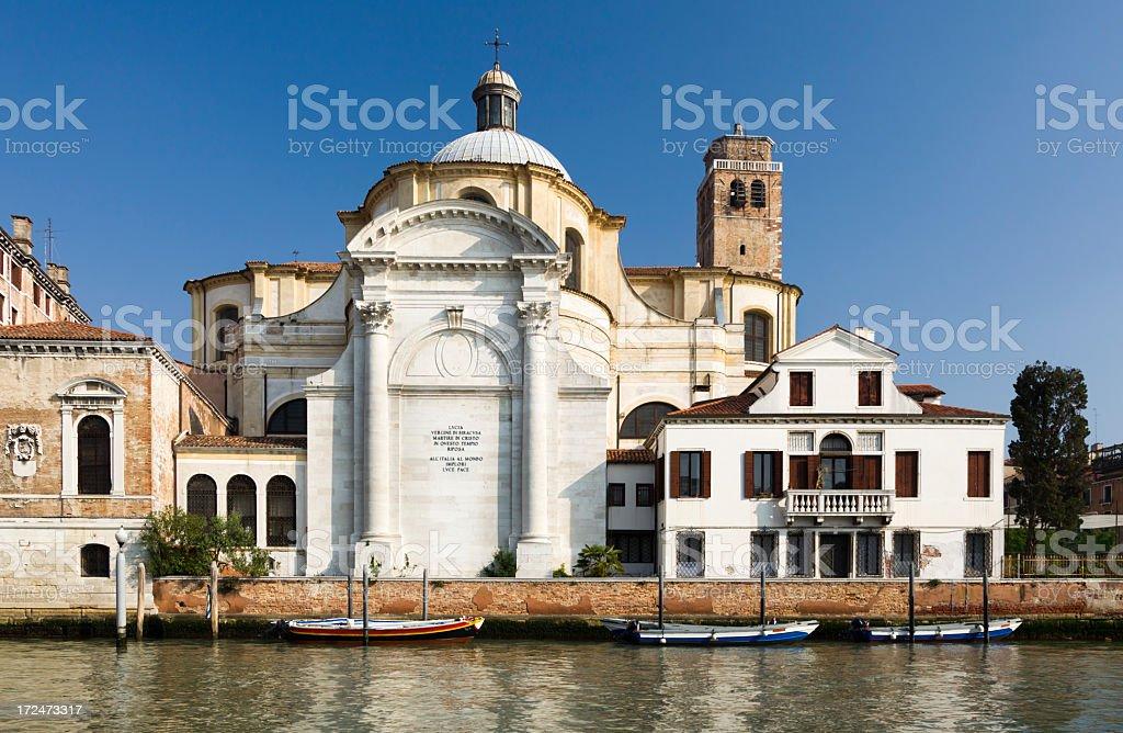 San Geremia church in Venice royalty-free stock photo