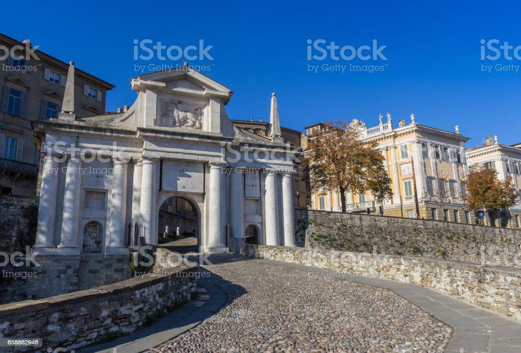 Puerta de San Giacomo - foto de stock