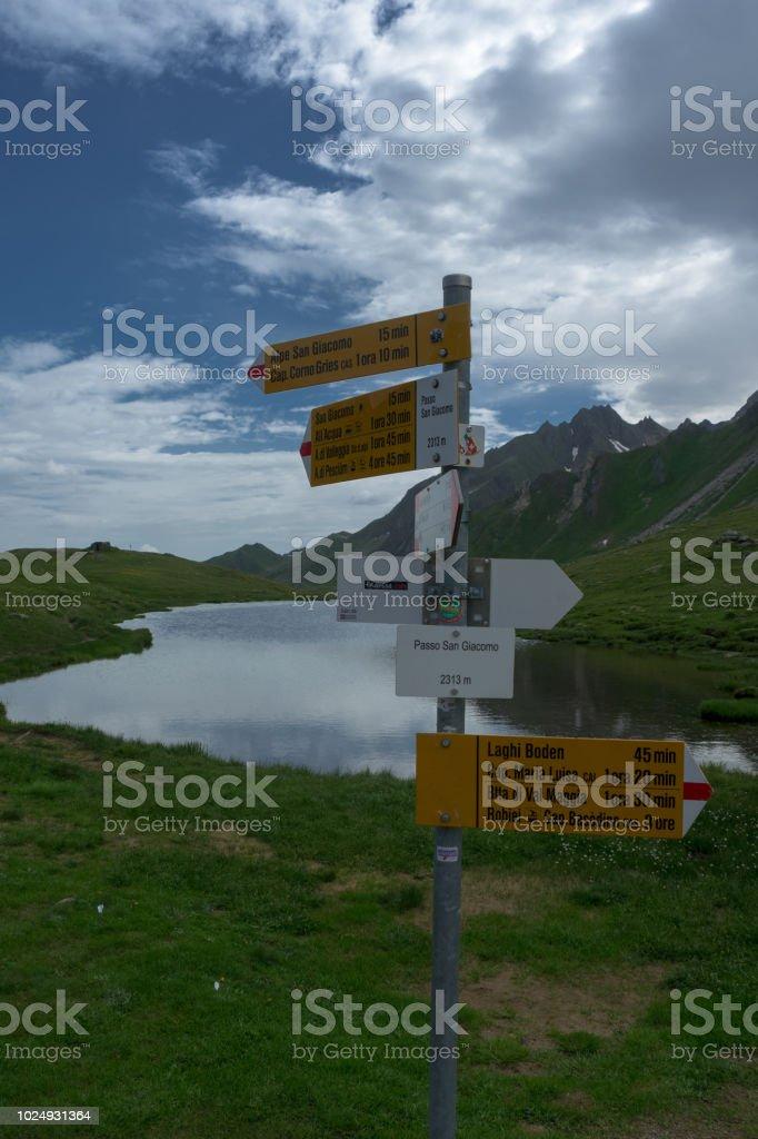 San Giacomo pass – Foto