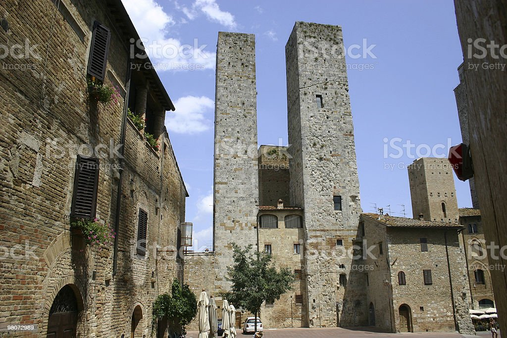 San Gimignano in Tuscany royalty-free stock photo