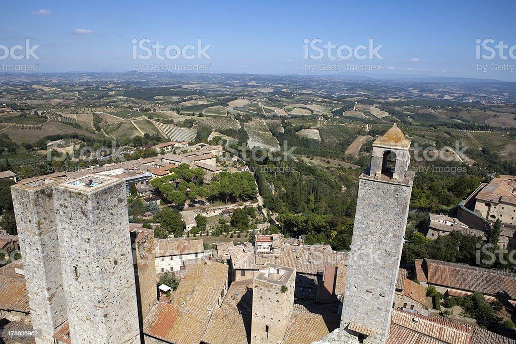 San Gimignano royalty-free stock photo