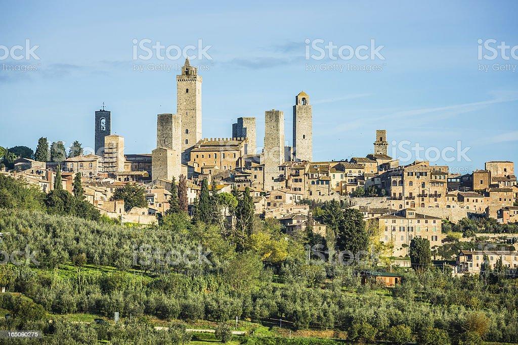 San Gimignano, Siena, Tuscany, Italy stock photo