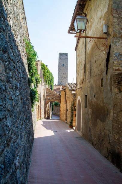 San Gimignano, Toskana, Italien – Foto