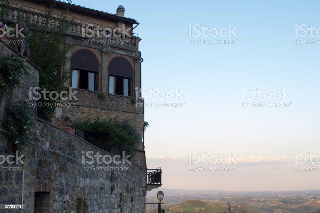san gimignano-italy royalty-free stock photo