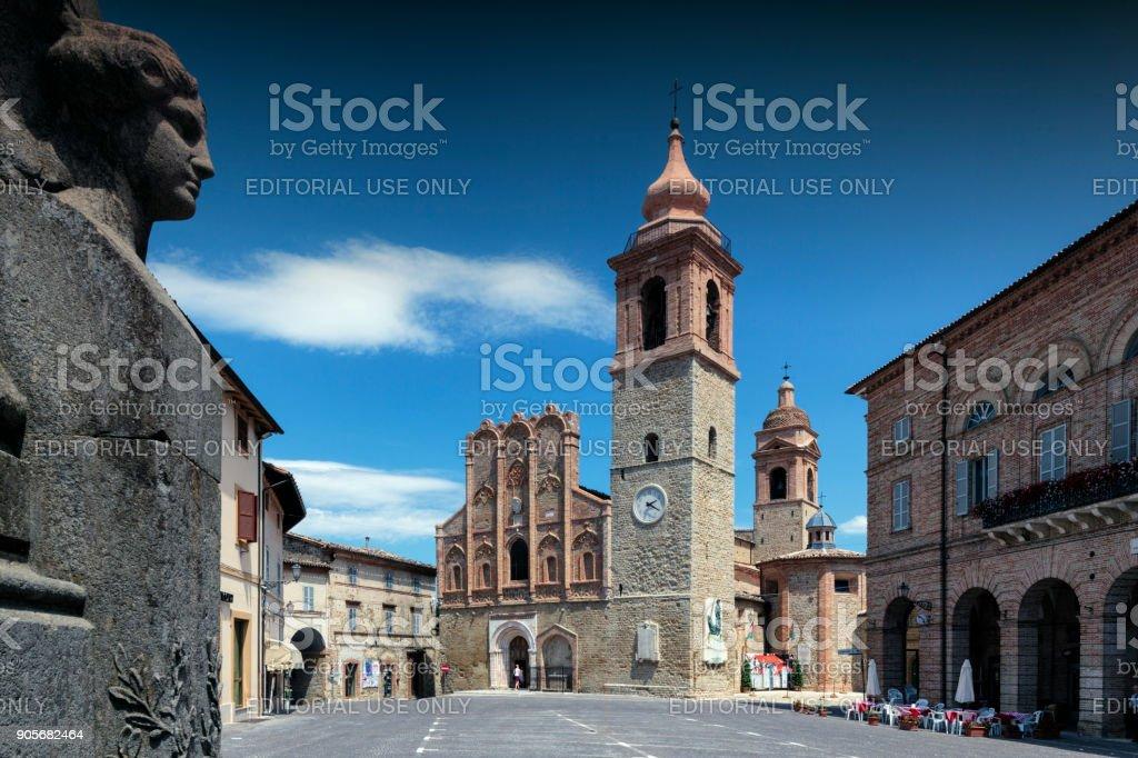 San Ginesio stock photo