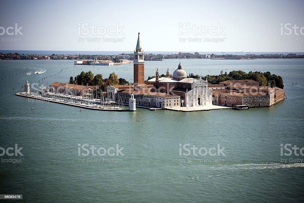 San Giorgio Maggiore a Venezia foto stock royalty-free