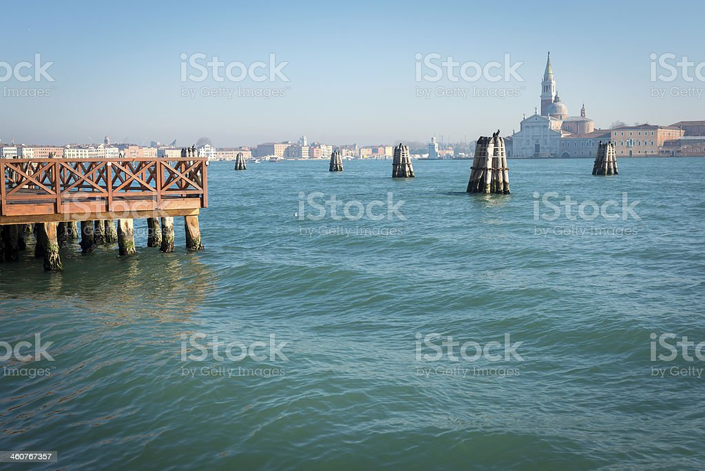 San Giorgio Maggiore Island Venice, Italy, Europe royalty-free stock photo