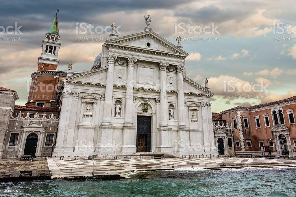 Isola di San Giorgio Maggiore - foto stock
